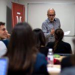 José Luis Sánchez Noriega imparte lección en el Máster de Guion