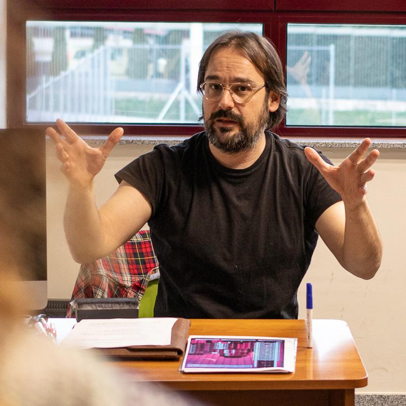 David Bermejo. Profesor Master Guion