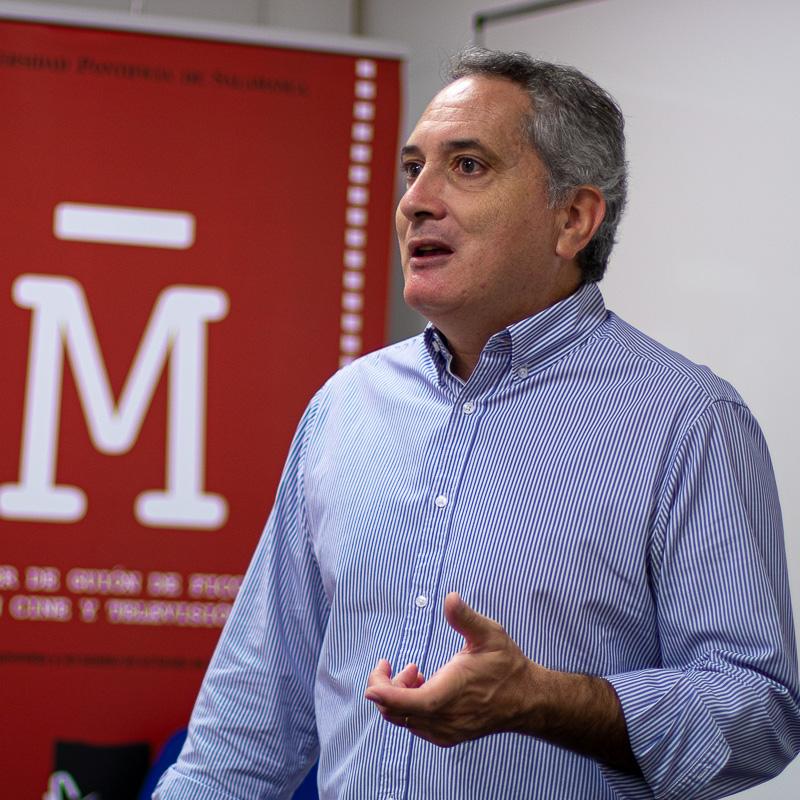 Antonio Sánchez Escalonilla. Profesor Máster Guion.