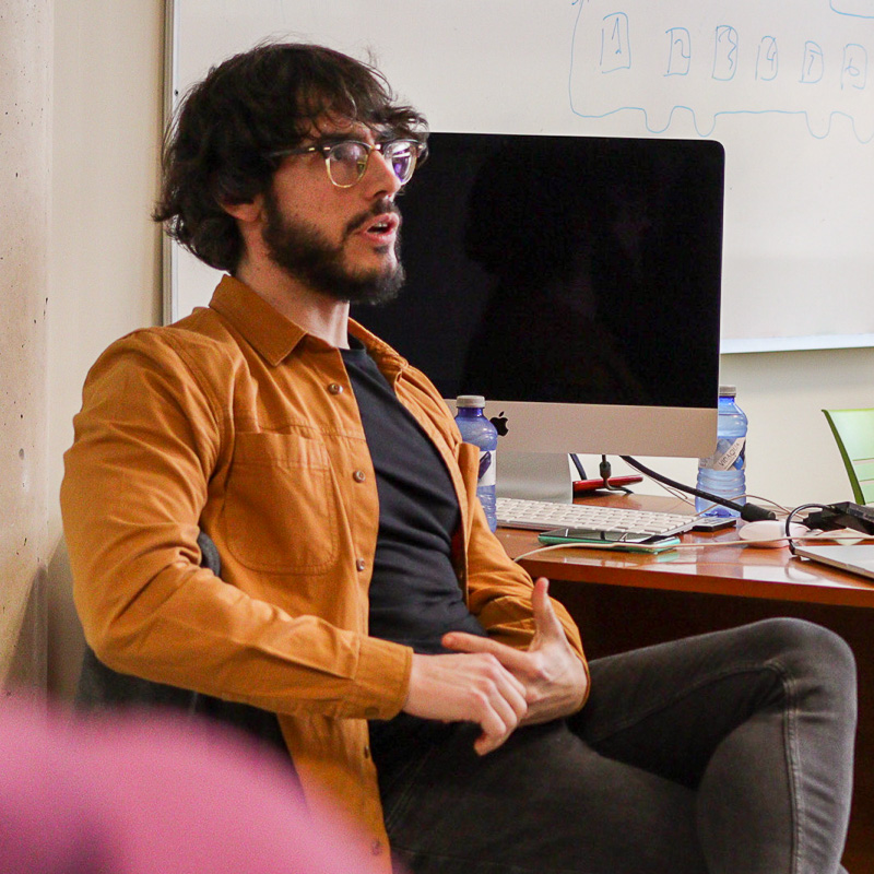 Carlos de Pando. Profesor Máster Guion