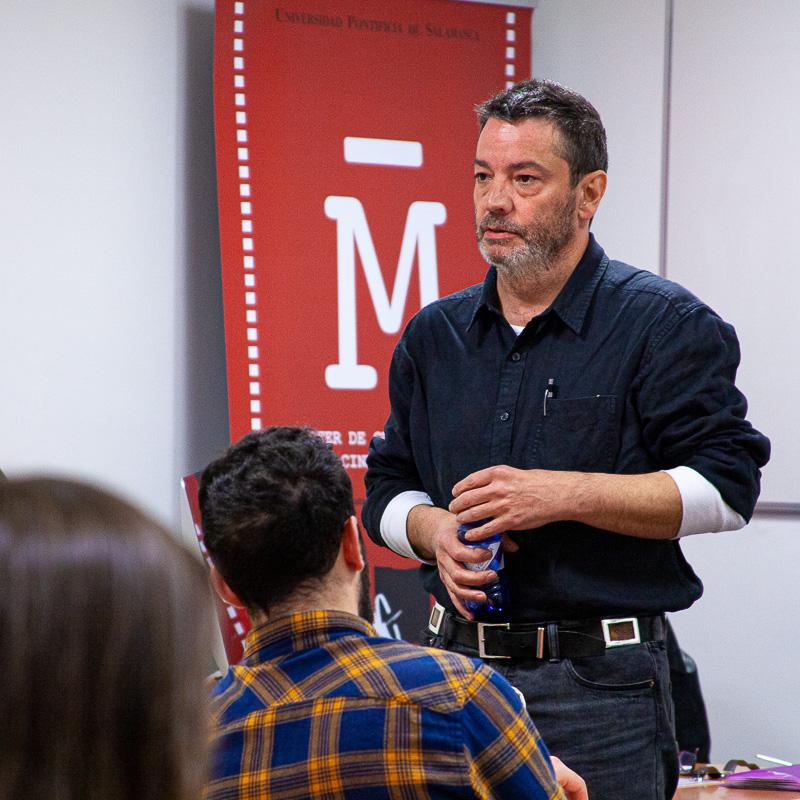 Enrique Urbizu. Director de cine. Profesor Máster Guion.