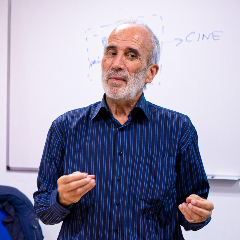 José Luis Sánchez Noriega. Profesor Máster Guion.