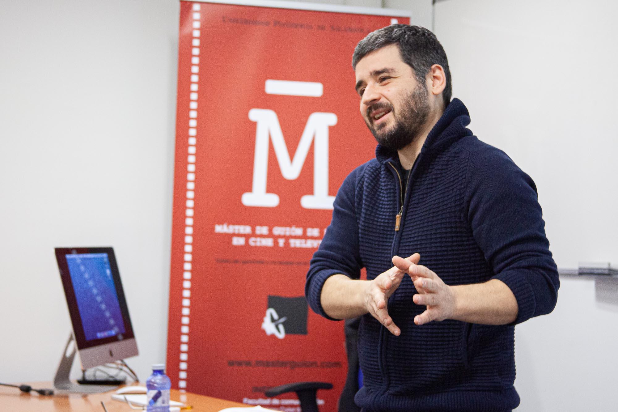 El guionista Natxo López en el Máster de Guion