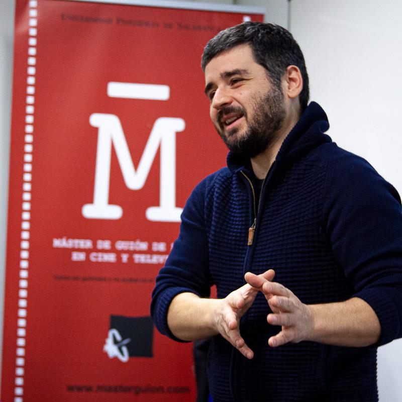 Natxo López. Profesor Máster Guion.