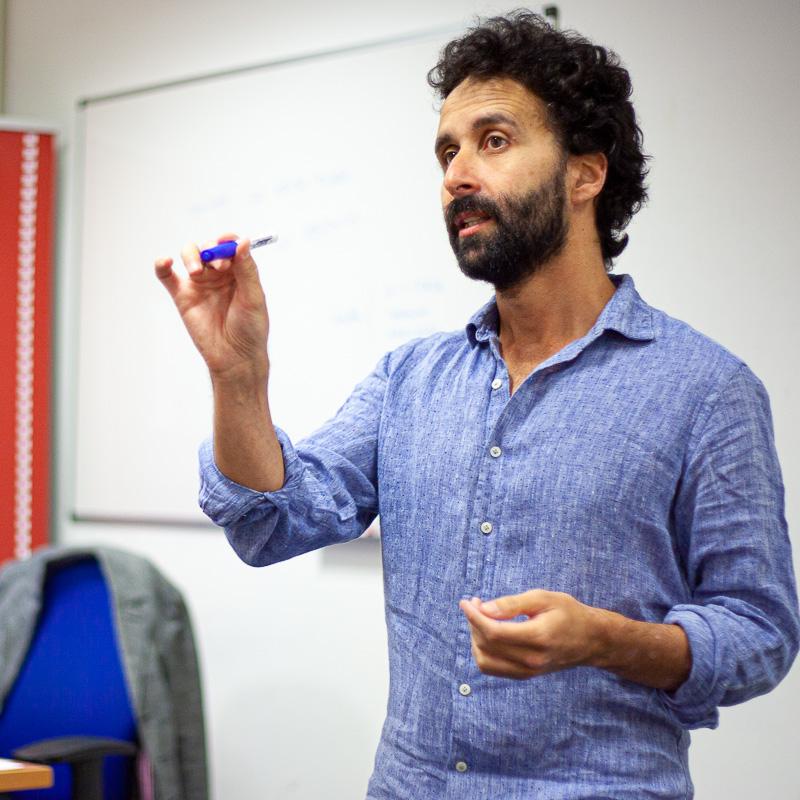 Pablo Remón. Profesor Máster guion.