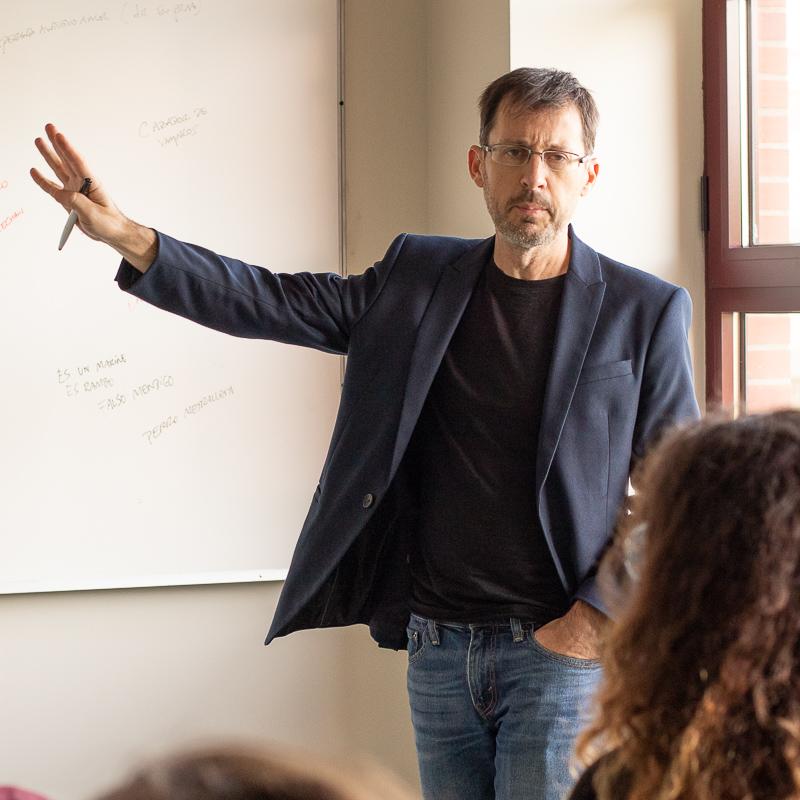 Sergio Barrejón. Profesor Máster Guion.
