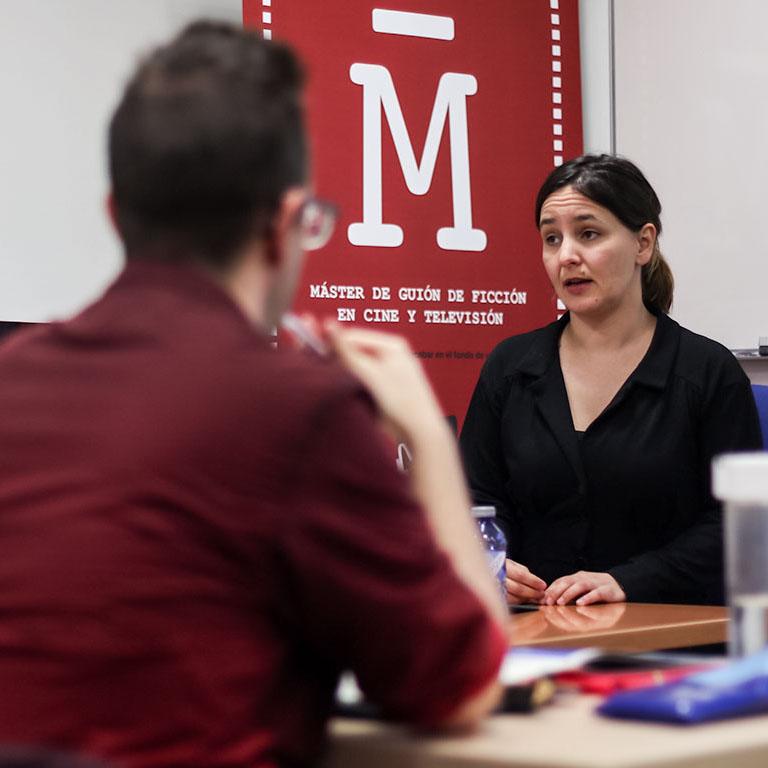 Susana Herreras. Profesora Máster de Guion.