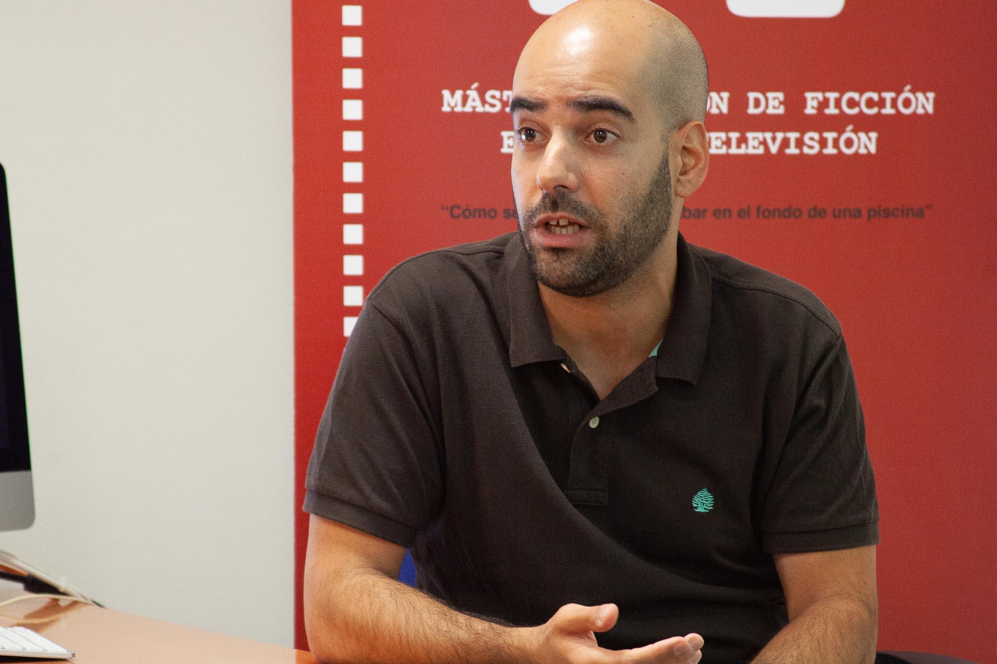 David Cotarelo guionista en el Máster de guion
