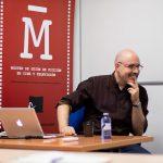 El guionista David Pulido en el Máster de Guion